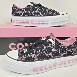 Converse Hello Kitty Chuck Taylor Platforms